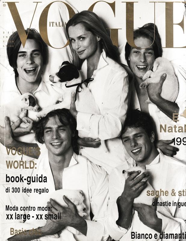 Vogue Italia, 1994 r., fot. Steven Meisel