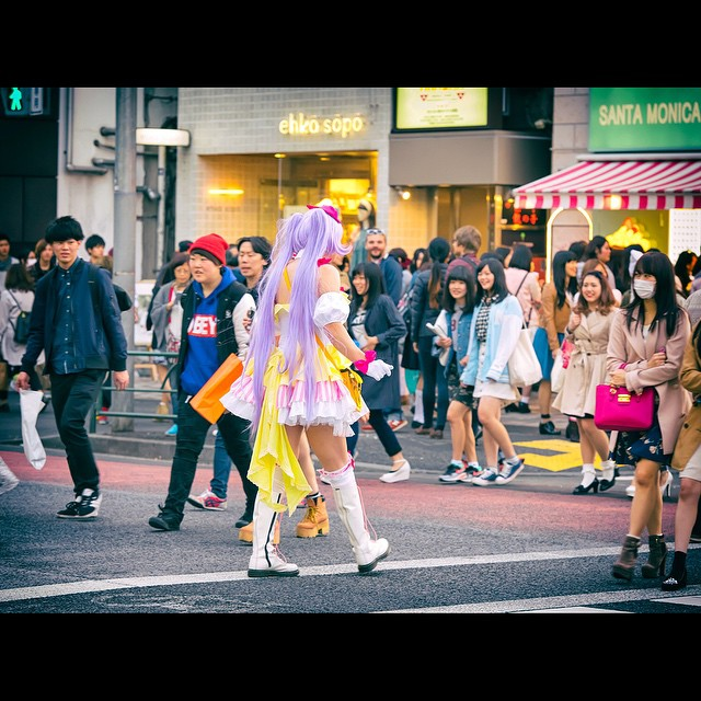 Ulica Takeshita/Instagram: @tokyofashion