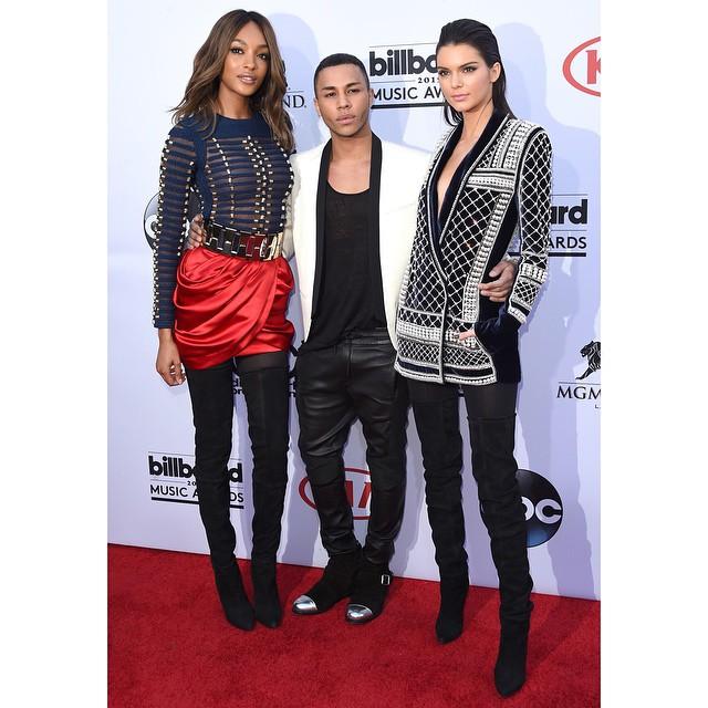 Kendall Jenner, Olivier Rousteing, Jourdann Dunn/Instagram: @hm