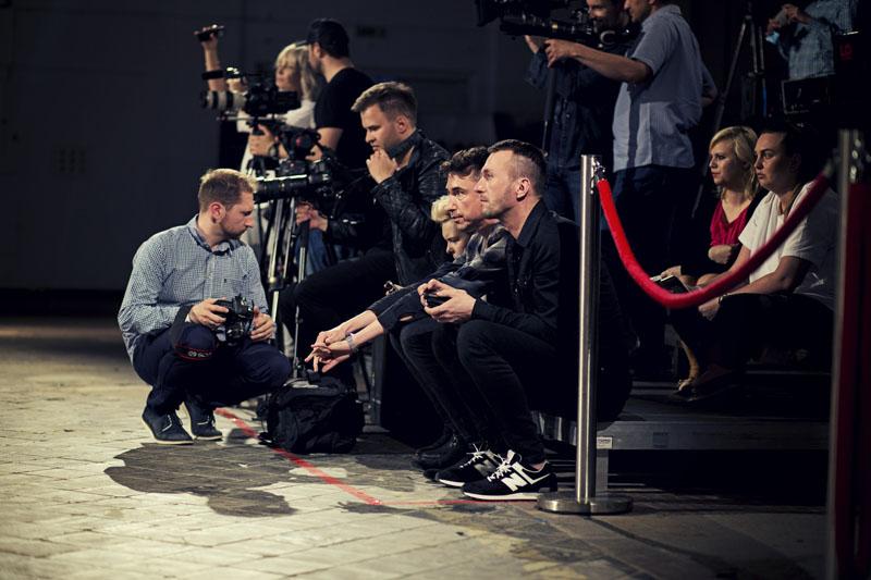 Marcin Paprocki iMariusz Brzozowski przed pokazem/ fot. Agnieszka Taukert dla DYKF