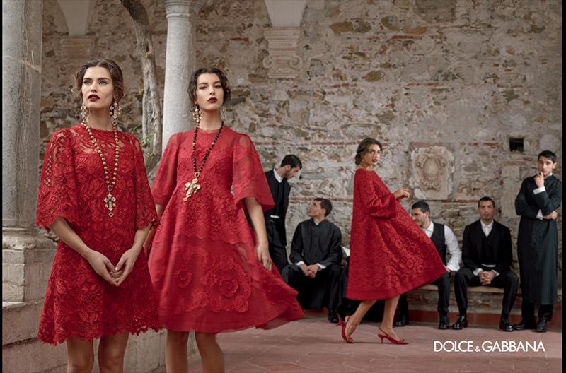 Motyw religijny w kampanii marki Dolce&Gabbana na sezon jesień/zima 2014