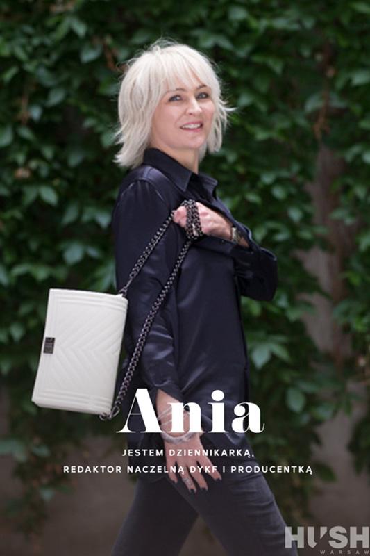 Anna Puślecka, redaktor naczelna DYKF/fot. Szymon Brzóska dla HUSH Warsaw