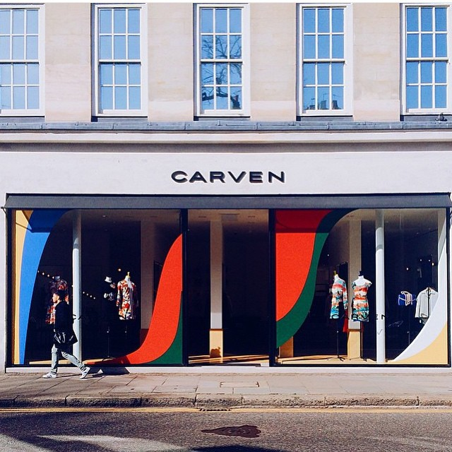 Butik w Londynie/Instagram: @carven_paris