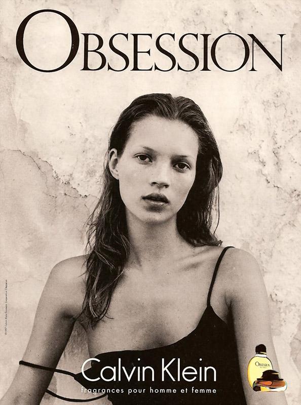 Kate Moss w kampanii perfum Calvina Kleina
