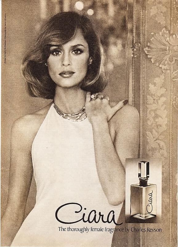 Lauren Hutton w reklamie perfum Ciara