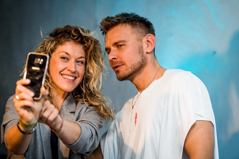 Różena Opalińska i Dawid Woliński/fot. MB Fashion Weekend