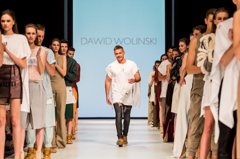 Finał najnowszej kolekcji pret-a-porter Dawida Wolińskiego/fot. MB Fashion Weekend