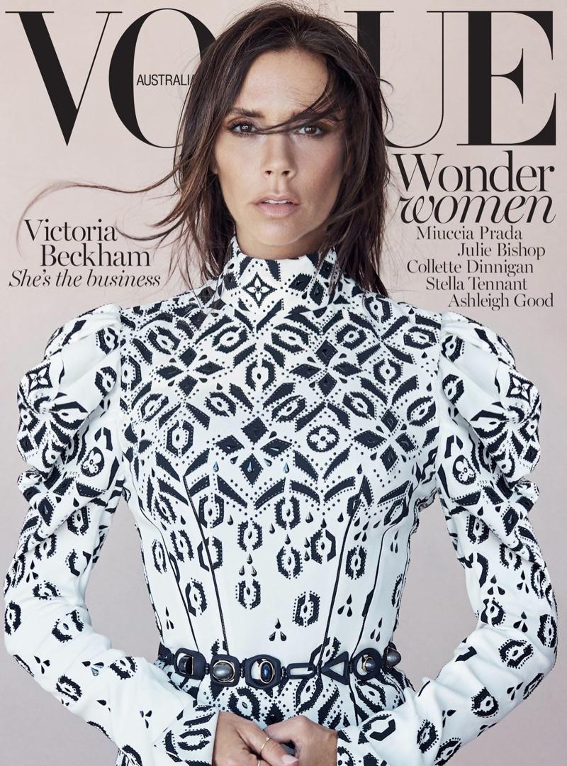 Victoria Beckham na okładce Vogue Australia