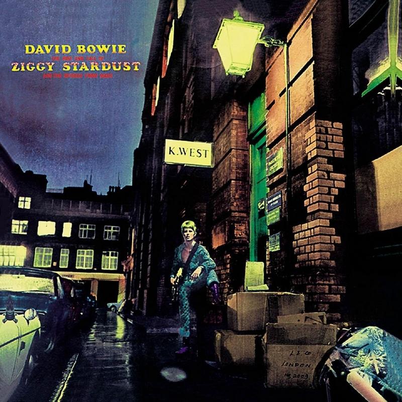 Okładka płyty Ziggy Stardust Davida Bowie'ego