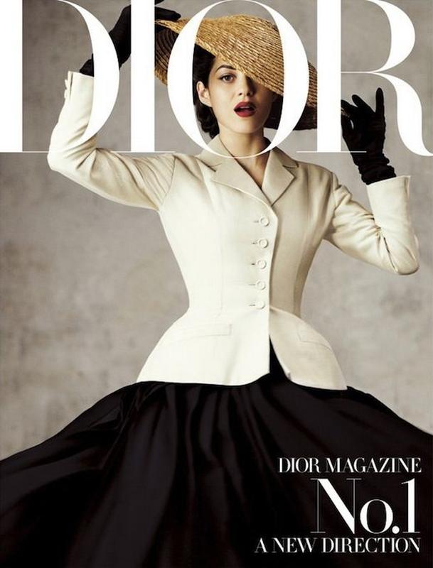 Marynarka The Bar na okładce Dior Magazine