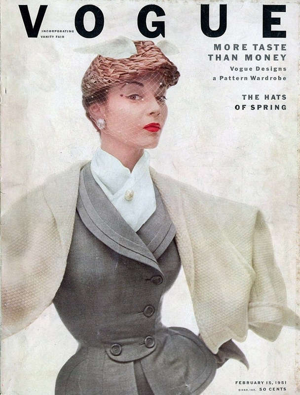 Kreacja Diora na okładce Vogue