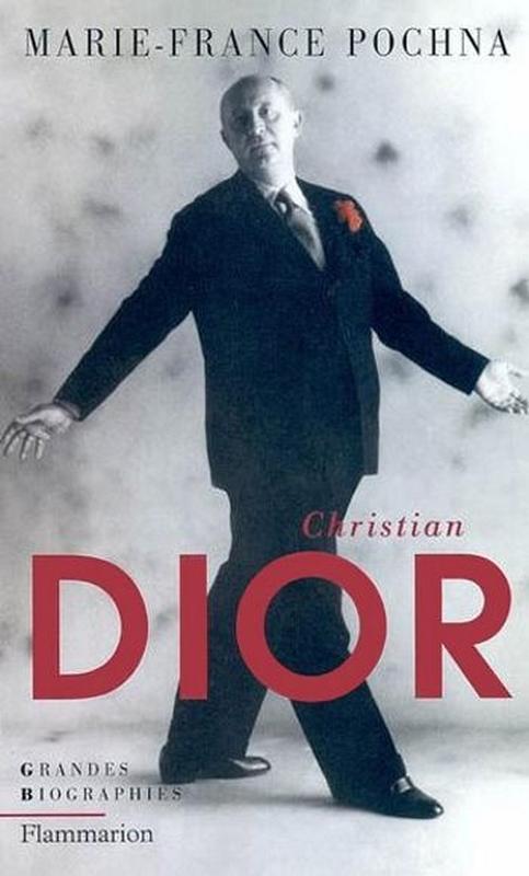 Okładka biografii Christiana Diora