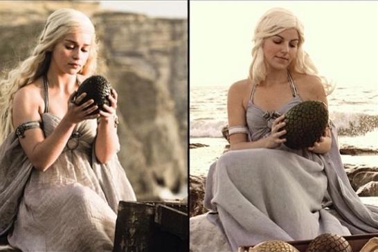 Daenerys z Gry o Tron/Instagram: @gotcosplay
