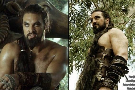 Khal Drogo z Gry o Tron/Instagram: @gotcosplay