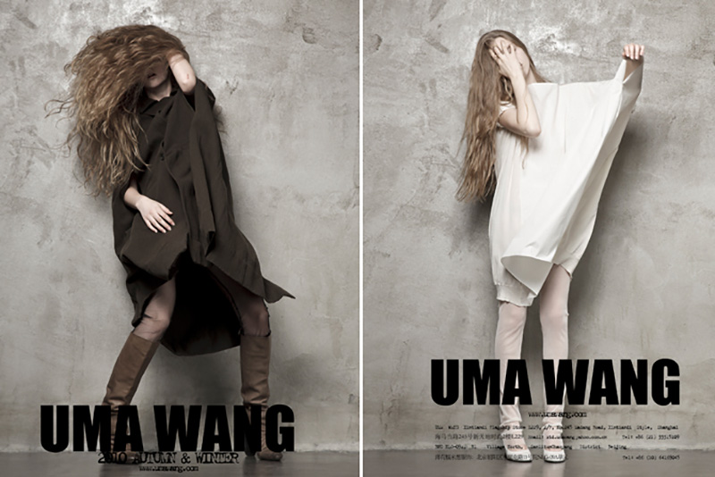 Uma Wang kolekcja FW2010