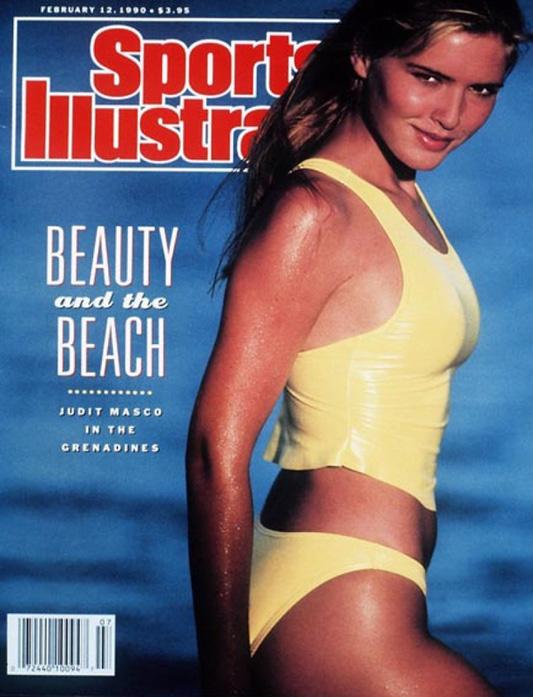 Okładka magazynu SPORT ILLUSTRATED z 1990 roku_tankini