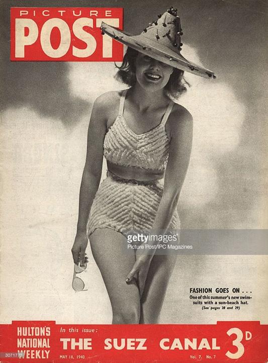 Okładka magazynu POST z 1940 roku