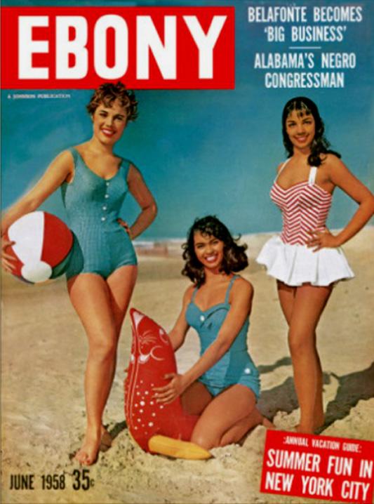 Okładka magazynu EBONY z 1958 roku