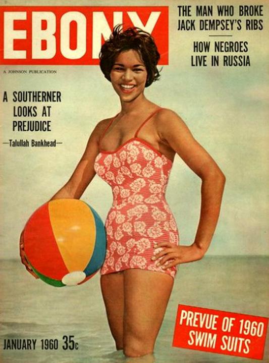Okładka magazynu EBONY z 1960 roku