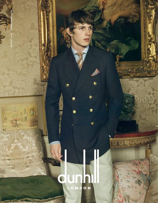 Kampania marki Dunhill na sezon wiosna-lato 2015