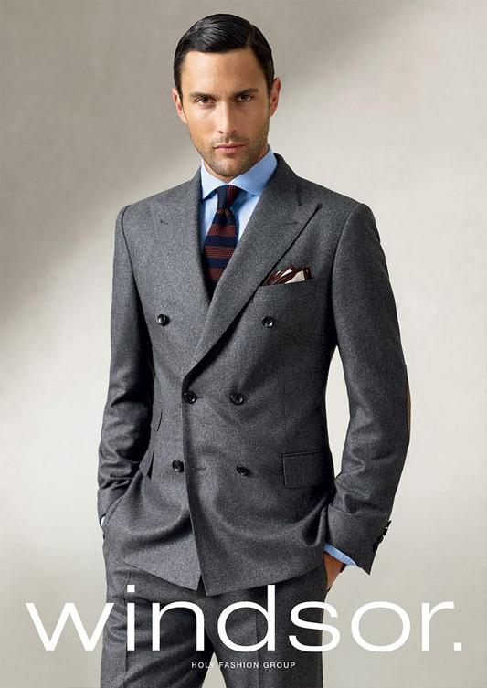 Noah Mills w kampanii marki Windsor na sezon jesień-zima 2011/2012