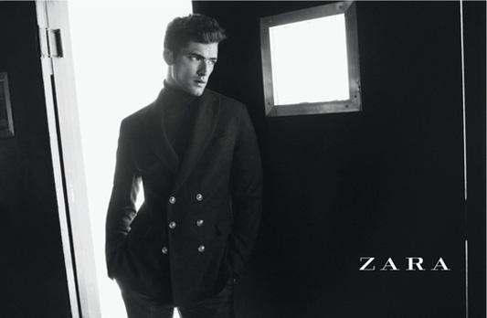 Kampania kolekcji męskiej marki Zara na sezon jesień-zima 2012/13