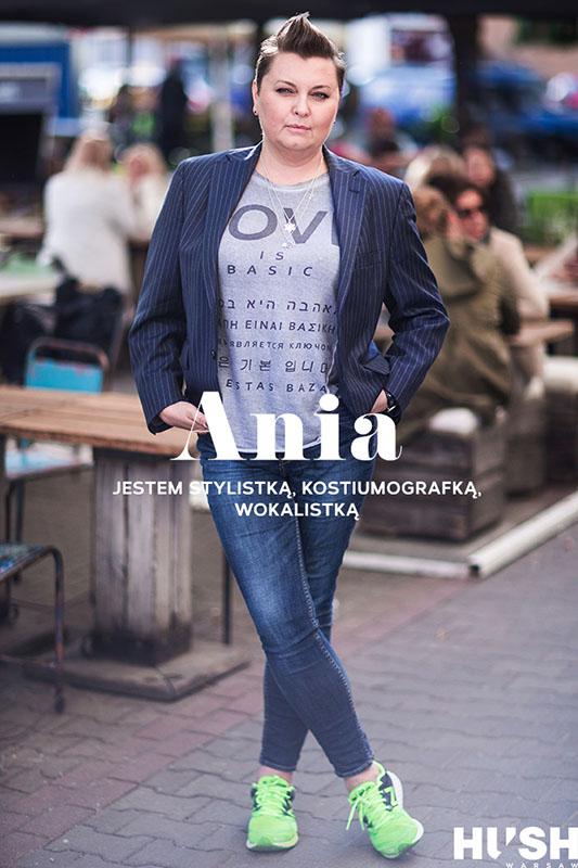 Anna Męczyńska, stylistka, kostiumograf/fot. Szymon Brzóska