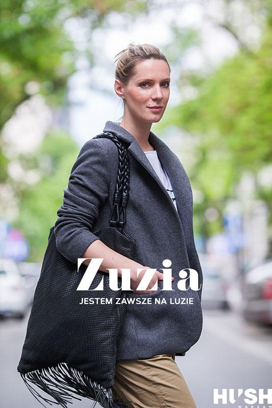 Zuzia Lewandowska, stylistka/fot. Szymon Brzóska