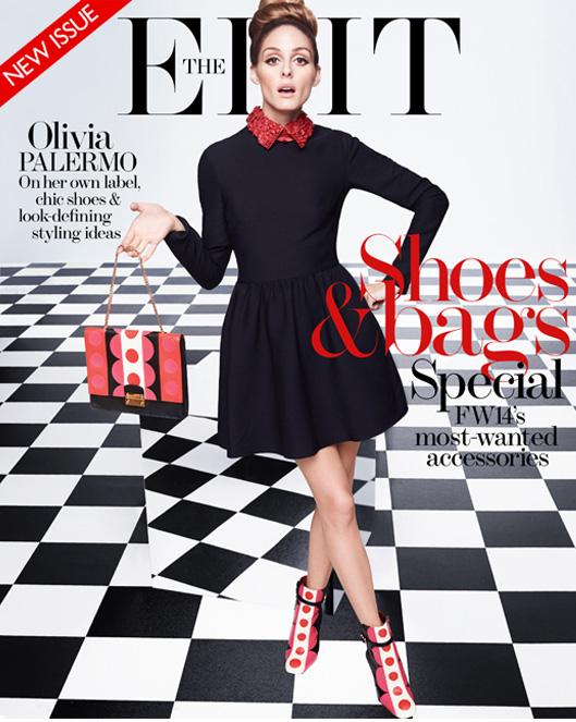 Olivia Palermo na okładce magazynu Edit