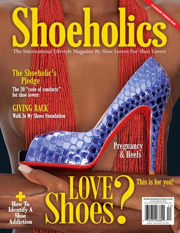 Okładka magazynu Shoeholics
