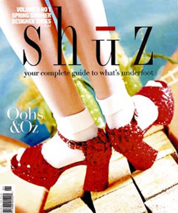 Okładka magazynu Shuz
