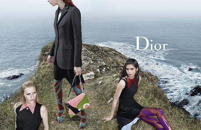 Kampania reklamowa Diora na sezon jesień-zima 2015