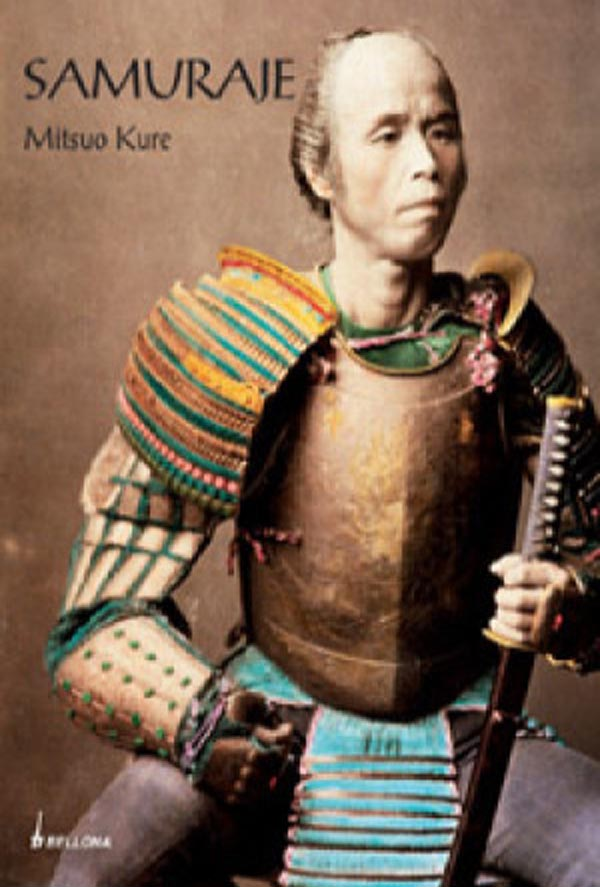 Okładka książki 'Samuraje' Mitsuo Kure