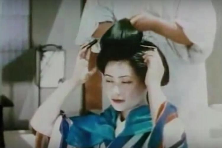 Kino vintage - życie gejszy w 1935 roku [wideo]