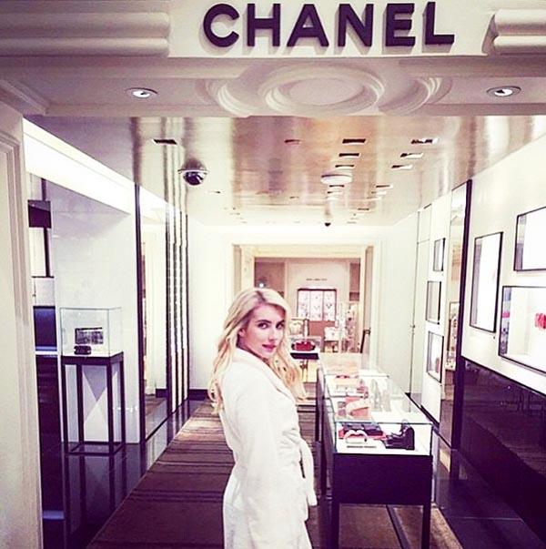 Butik Chanel w Bergdorf Goodman/Instagram: @bergdorfs