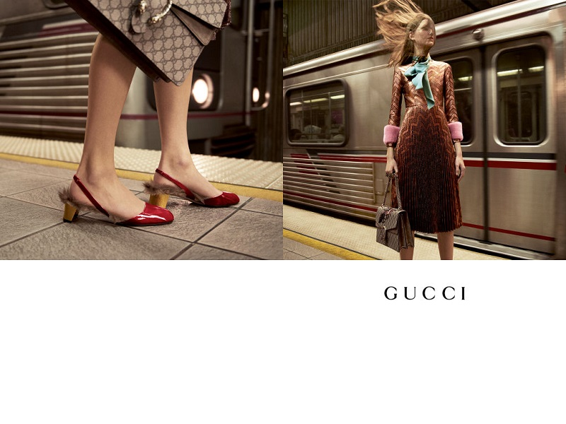 Gucci jesień/zima 2015/2016