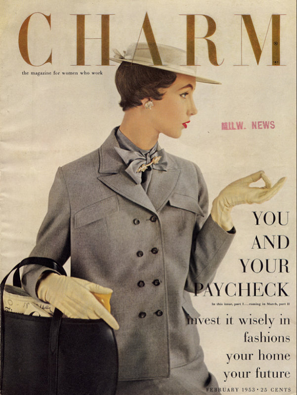 Charm Magazine luty 1953