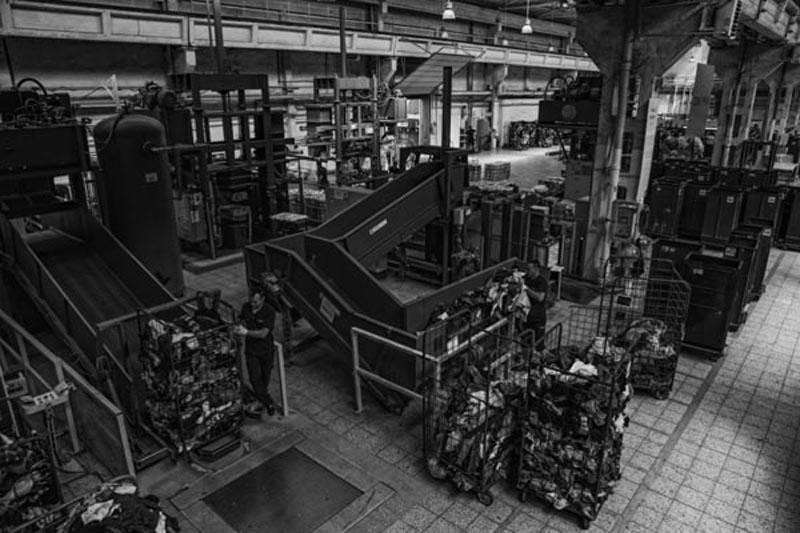 VIVE Textile Recycling - sortownia