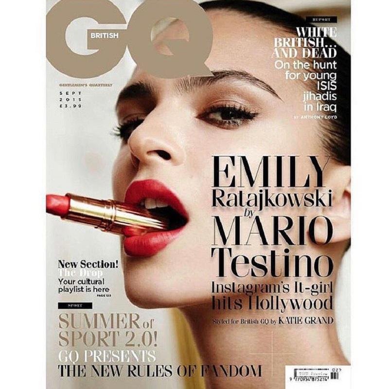 GQ Magazine wrzesień 2015/fot. Mario Testino