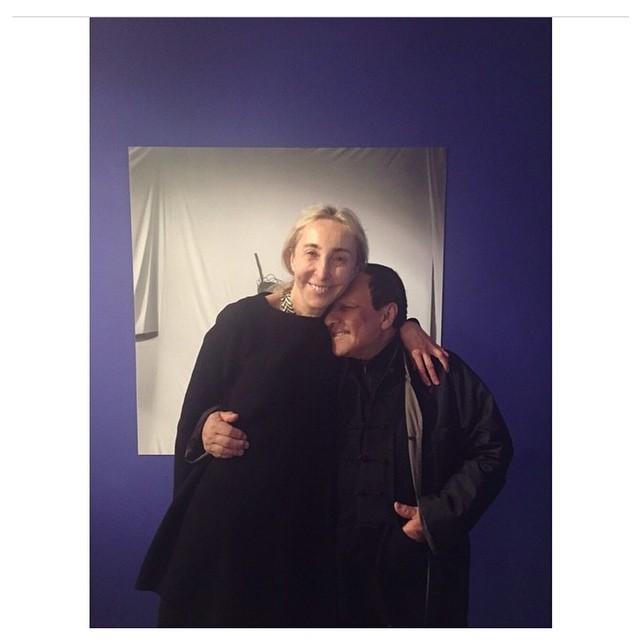 Carla Sozzani i Azzedine Alaia/Instagram: @10corsocomo
