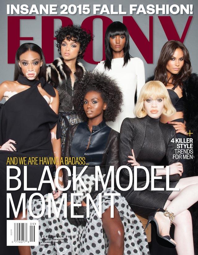 Wrześniowa okładka magazynu Ebony/Instagram: @ebonymagazine