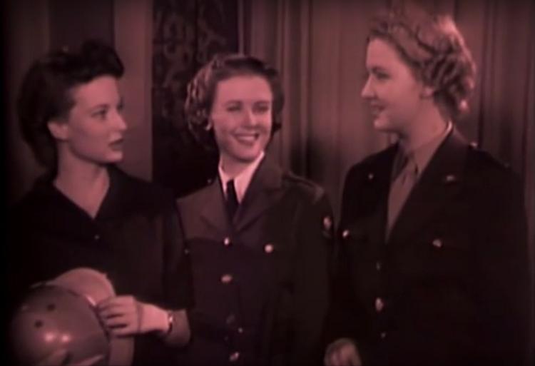Kino vintage - fryzury kobiet podczas II wojny światowej [wideo]