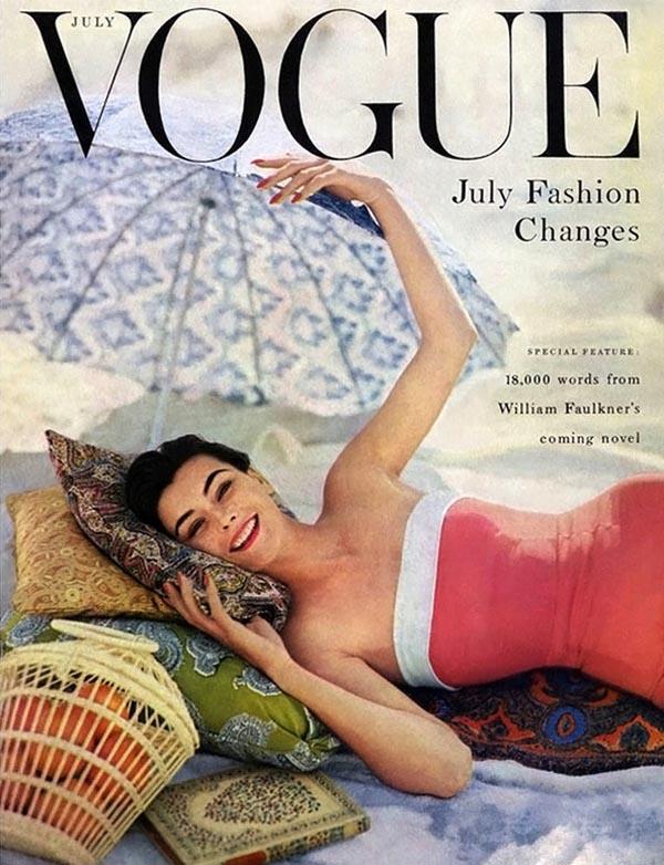 Okładka lipcowego wydania magazynu Vogue