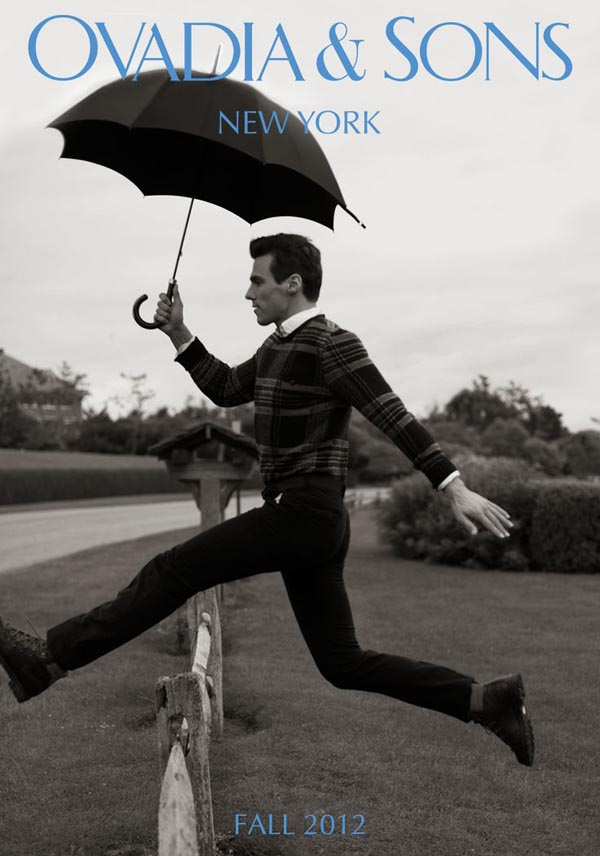 Kampania reklamowa Ovadia & Sons na sezon jesień 2012