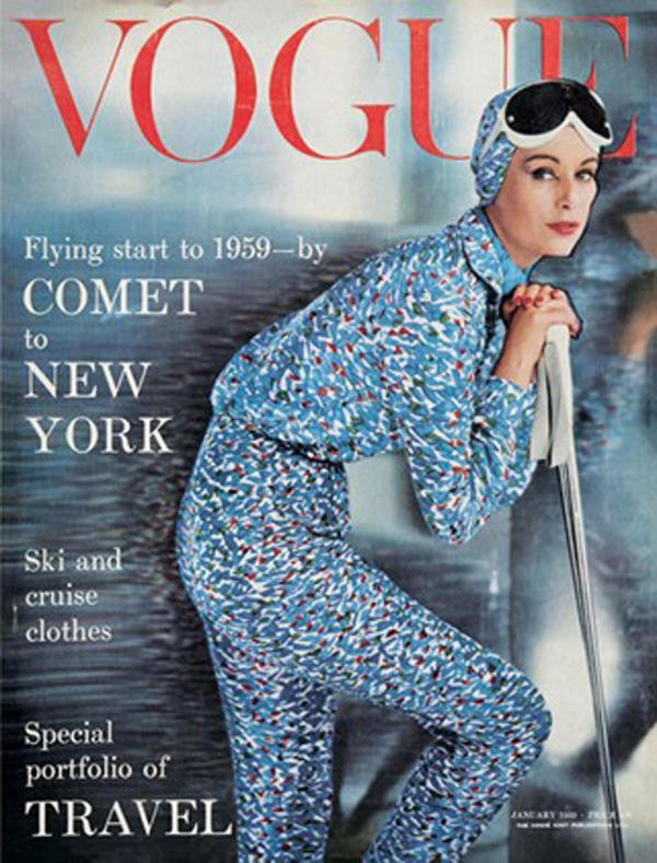 Okładka magazynu Vogue ze stycznia 1959 roku