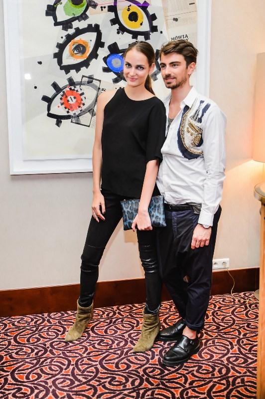 Zuzanna Bijoch i Piotr Krzymowski/fot. Tomasz Kowalski