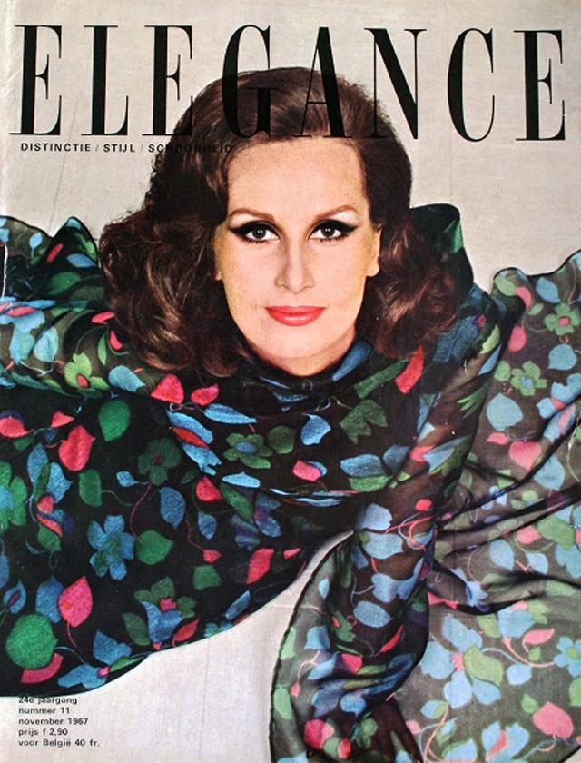 Listopadowa okładka magazynu Elegance
