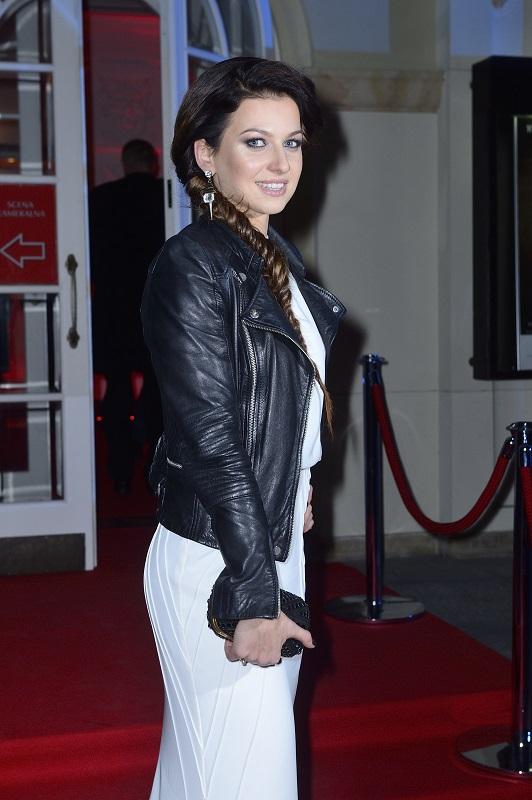 Anna Lewandowska w biżuterii Scallini - Gala Mistrzów Sportu 2014/fot. MW Media