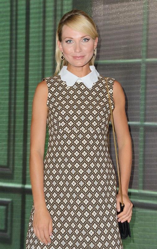Joanna Moro w biżuterii Scallini - ramówka TVP 2015/fot. MW Media