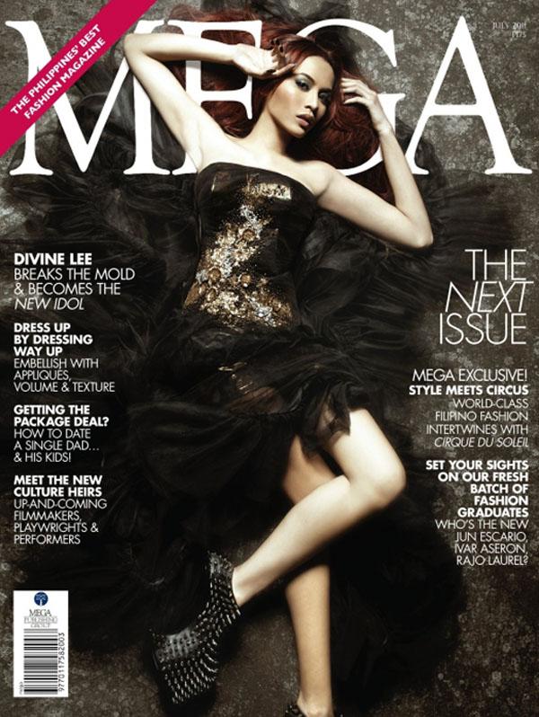 Okładka magazynu MEGA - luty 2011